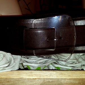 Elquoii clear buckle belt